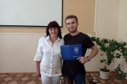 Вручення дипломів молодшого спеціаліста