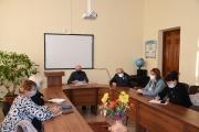 Нарада з головами циклових комісій 20.10.2021