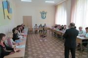 Засідання методоб'єднання викладачів укр.мови і літератури ВНЗ І-ІІ р.а. у Ів-Франківській області
